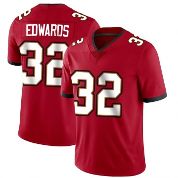 Men's Mike Edwards Tampa Bay Buccaneers Nike Limited Team Color Vapor Untouchable Jersey - Red