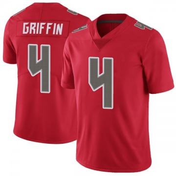 Men's Ryan Griffin Tampa Bay Buccaneers Nike Limited Color Rush Jersey - Red