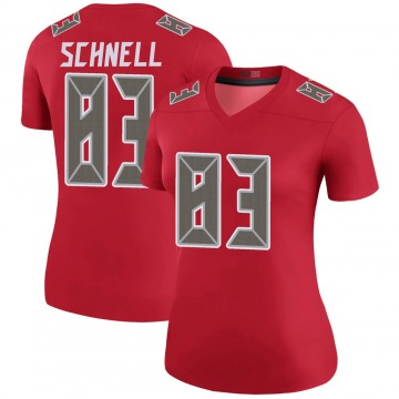 Women's Spencer Schnell Tampa Bay Buccaneers Nike Legend Color Rush Jersey - Red