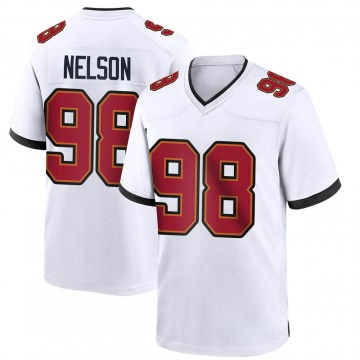 Youth Anthony Nelson Tampa Bay Buccaneers Nike Game Jersey - White