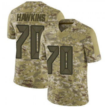 Youth Jerald Hawkins Tampa Bay Buccaneers Nike Limited 2018 Salute to Service Jersey - Camo