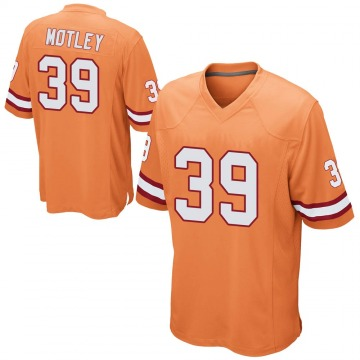 Youth Parnell Motley Tampa Bay Buccaneers Nike Game Alternate Jersey - Orange