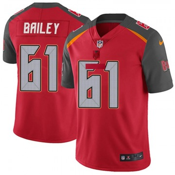 Youth Zack Bailey Tampa Bay Buccaneers Nike Limited Team Color Vapor Untouchable Jersey - Red